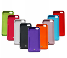 2200mAh phone accessories charger smart battery case cover for iPhone 5, power bank kickstand mobile case for iPhone 5s