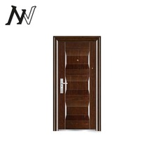 Superior manufacture latest design security lock reasonable price steel safety single doors