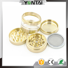 High end color anodizing 4 parts weed herb grinder