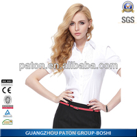 2015 Latest Fashion Light Color Women Shirt And Short Set For Office Wear