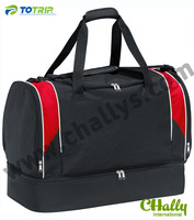 Two compartments outdoor sport bags for wet clothes