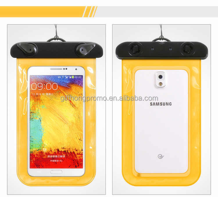 transparent pvc bag phone case waterproof