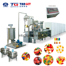 Automatic Jelly/Gummy Candy Production Line High Quality Jelly Candy Making Machine Gummy Candy Machine