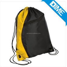 Cheap Custom Waterproof Polyester Drawstring Bag For Promotion Coffee Pouch