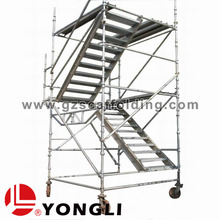 4 leg Staircase Tower Type Cuplock Scaffolding System