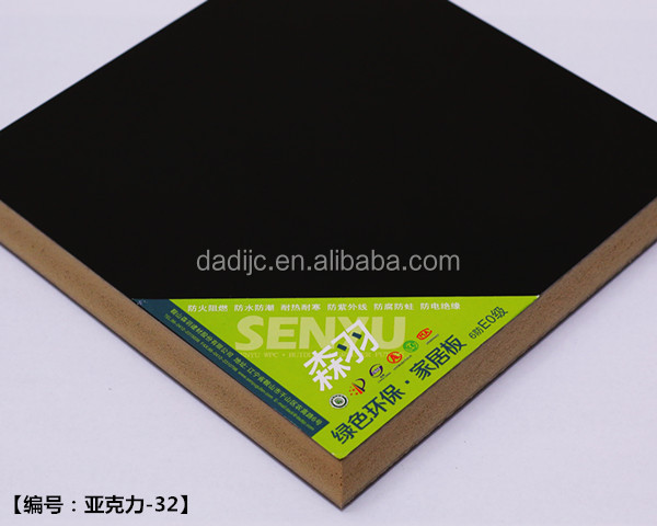 High Density Classic Bathroom Cabinet Waterproof Foam Board