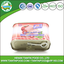 ready to eat foods halal meals brazil quality canned beef luncheon meat