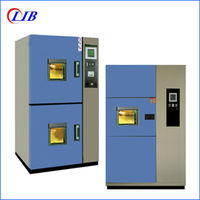 Two Zones Hot And Cold Impact Test Chamber