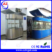 low transport and stock light steel structures spraying booth house