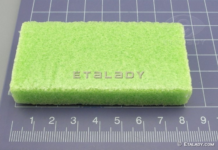 EL-D451-PG disposable pumice sponge block