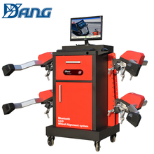 laser bluetooth wheel alignment and balancing machine
