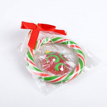 Colorful Hard Candy Cane Christmas jelly lollipop xmas decorations