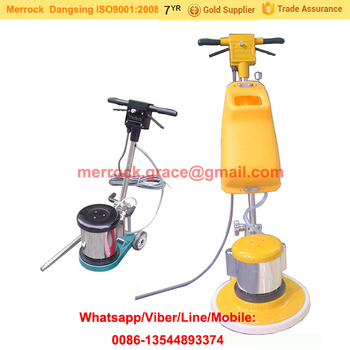 Electric Floor Scrubber Manual Marble Cleaning Machine 220V Floor Buffer