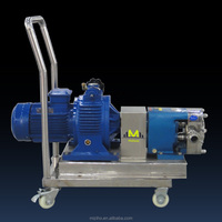 MZH-T High Quality stainless steel rotar lobe pump from professional manufacturer