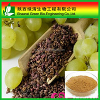 Grape Seed Extract Procyanidins| Procyanidine 25% Proanthocyanidins Powder/Water Soluble Grape Seed Procyanidin