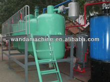 1TPD cooking crude oil refinery / refined sunflower oil
