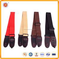 OEM services custom cotton blank guitar strap with your logo for guitars