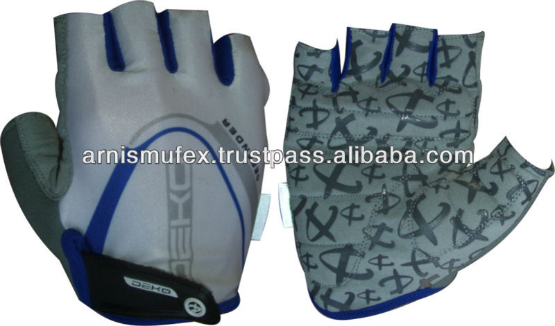 New Short finger Super Fit Lycra Bike/Cycling Glove with GEL Pads
