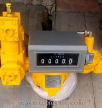 2inch gas flow meter with strainer air eliminatoar digital flowmeter