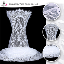 Bulk custom net cloth tulle bridal dresses lace material for promotion