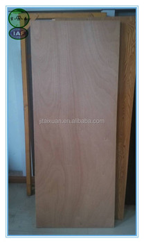 Economic waterproof solid semi core plywood flush door for Solid core flush door price