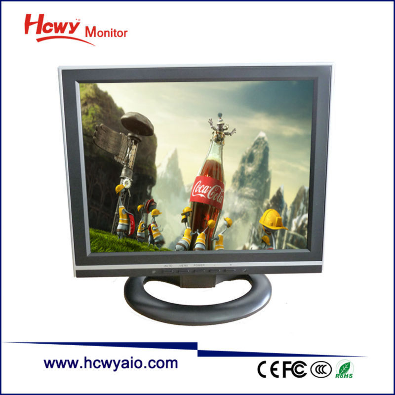 "Hot Sale Cheap Price 13inch Square Computer Monitor 13"" VGA TFT LCD Monitor"