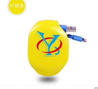 QYE10 coolest spool casing retractable earphone,fbi earphone,funny retractabel earphones