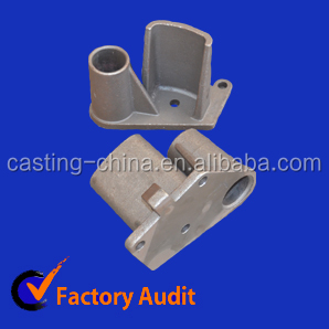Sand casting, used for truck, made of ductile iron, CNC machined