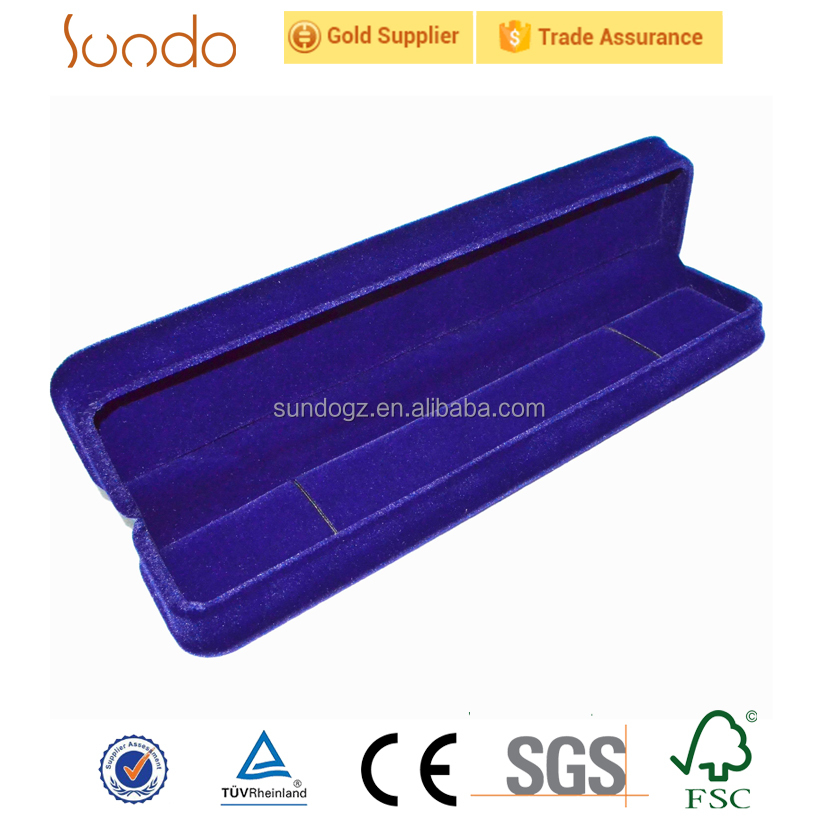 high-quality cheap velvet bracelet box from direct factory