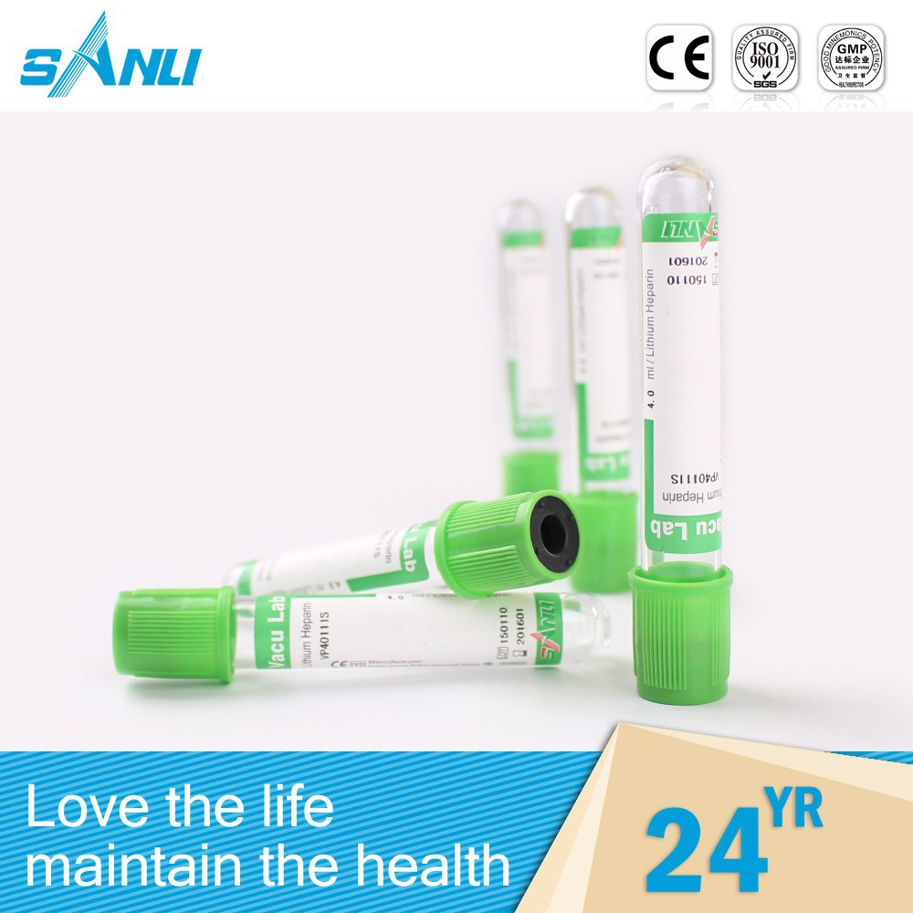Automatic personalized capillary heparin tube