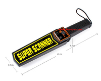 High Sensitivity Supper Scanner Hand Held Metal Detector