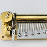 Yunsheng 50 note deluxe musical movement custom song music box