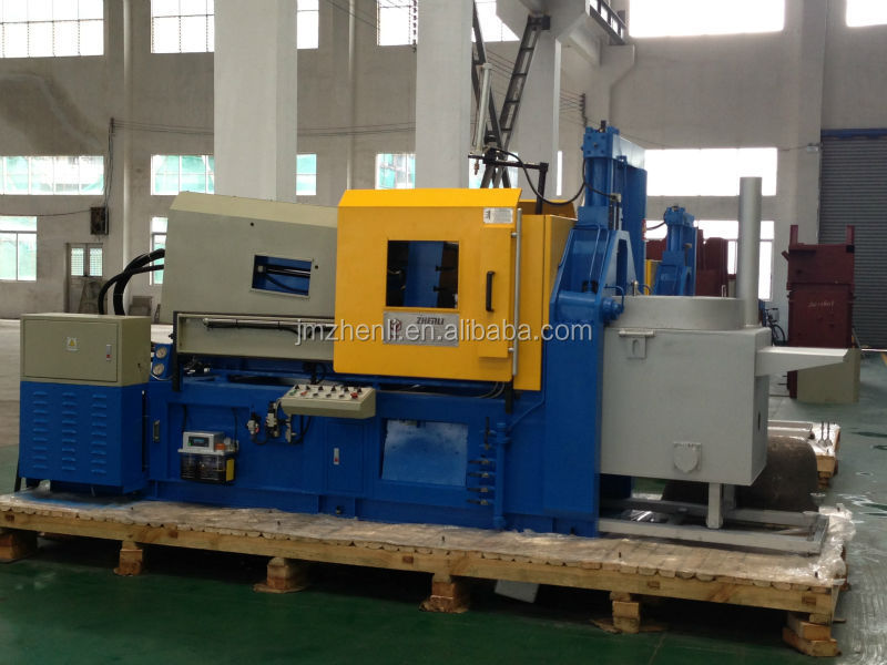 130T horizontal lead alloy high pressure hot chamber die casting machine