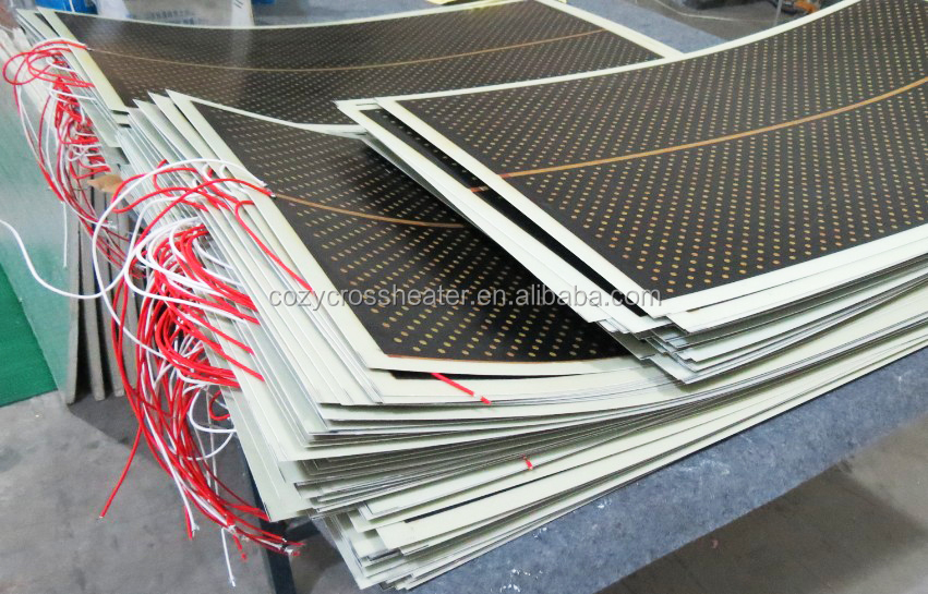 carbon crystal far infrared heater floor carbon heater film