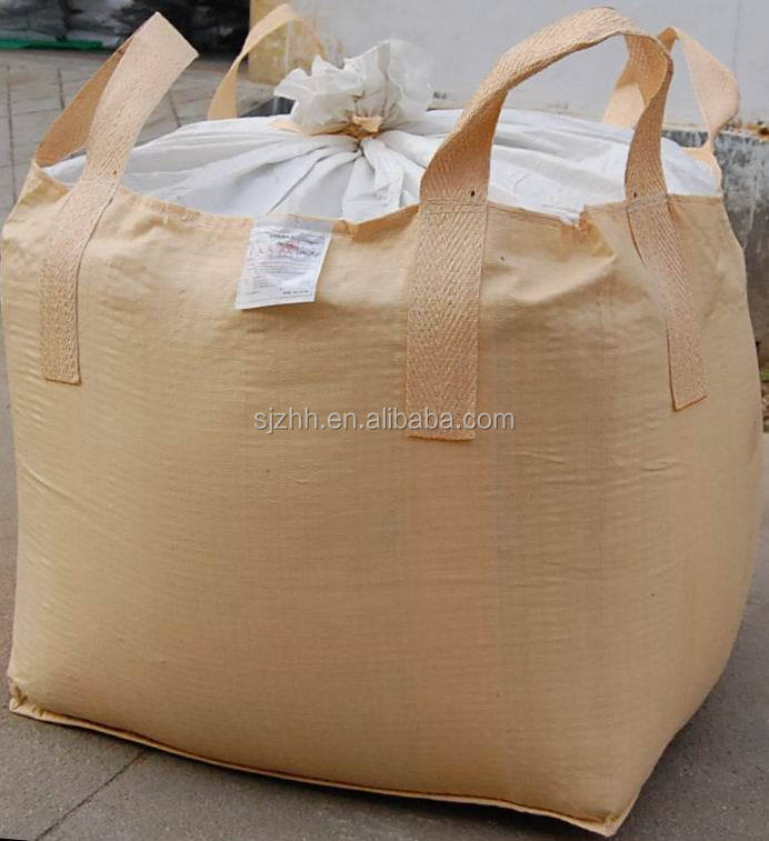 Polypropylene breathable jumbo bulk bag for peanut
