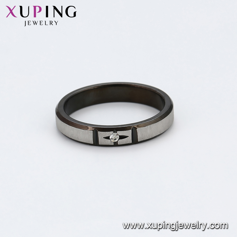 97529 XUPING manufacturer supply cheap rings for men, fashion men ring stainless steel
