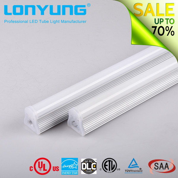 Zhongshan Factory No Strobe ! No Spot ! Led Tube Light Fixture Ul Dlc