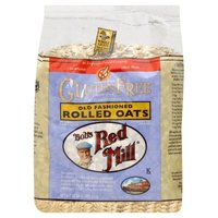 Bobs Red Mill Rolled Oats Whole Grain Gluten Free 32.0 OZ (Pack of 4)