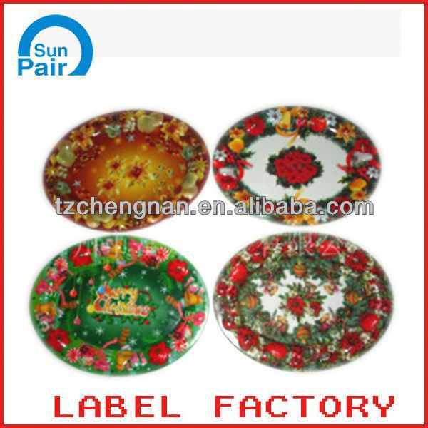 new design plastic label strip