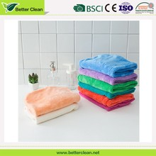 Wholesales microfiber quick water absorbent drying home salon used cap hair towel wrap with button