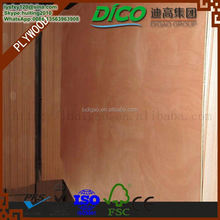 Plywood for Furniture Materials Hardwood Commercial Plywood sanded two Face