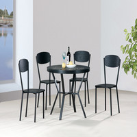 Modern dining set furniture 5PCS Table and Chair