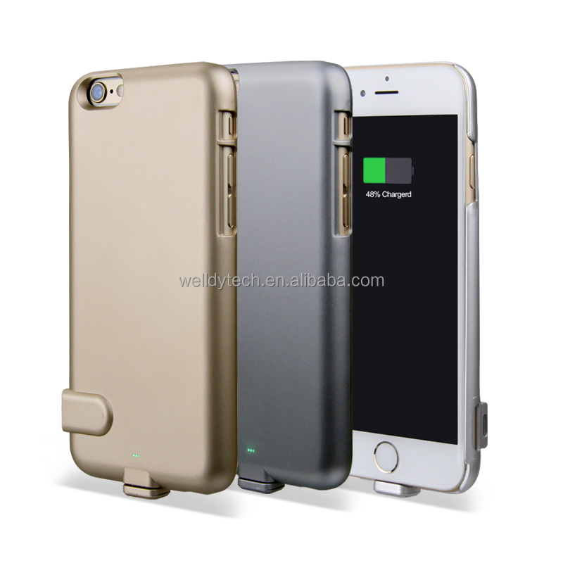 Ultra-thin charger 1500mAh external backup battery case for iphone 6/6s