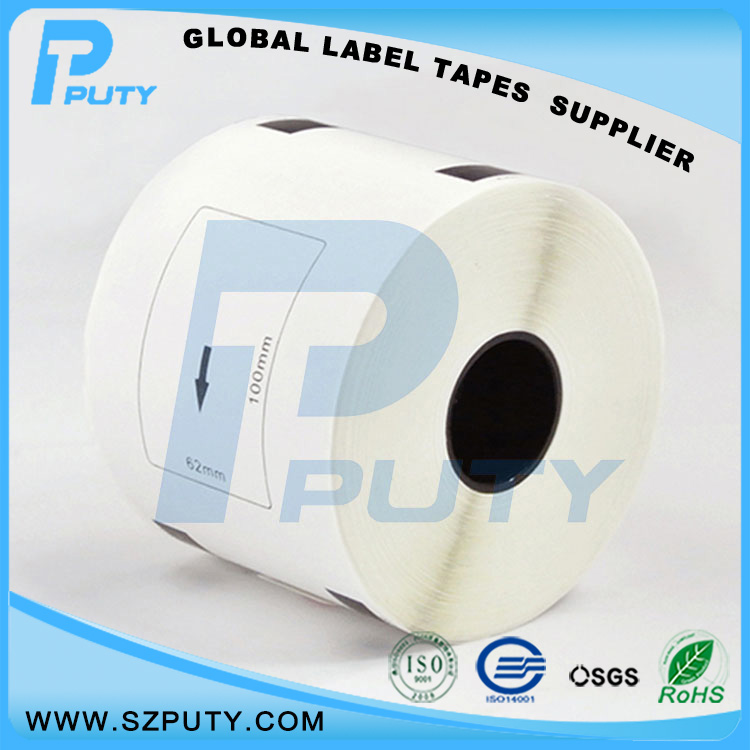 thermal sticker paper dk-11202 laebl tape for brother ql 700 printer labels