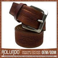 Good Prices Customizable Mens Genuine Spanish Leather Belt