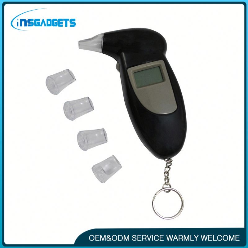 Digital lcd display breath alcohol tester hnbd electronic alcohol test