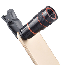 Brand new 8x Telescope 4 in 1 Wide Angle Macro Lens for iPhone Mobile Phone Camera Lens