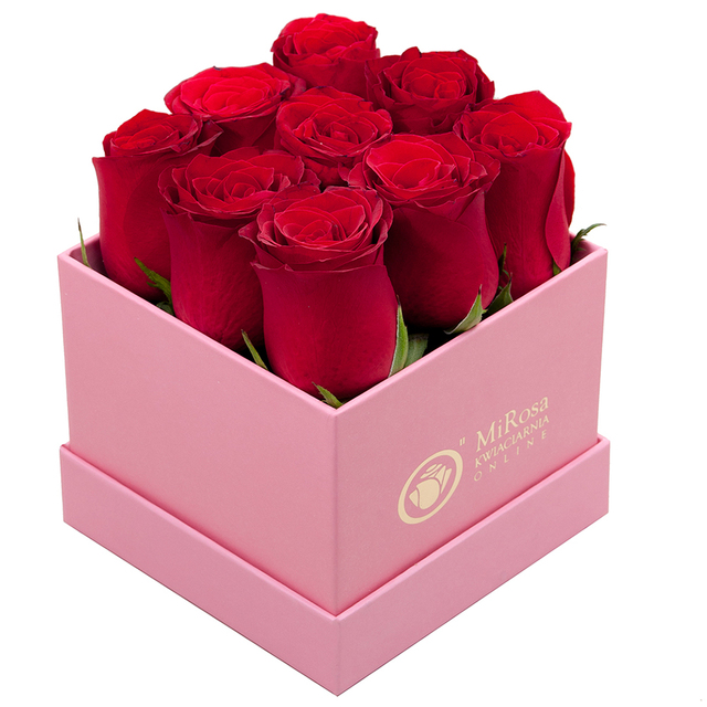 Wholesale gift hat paper packaging luxury flower box
