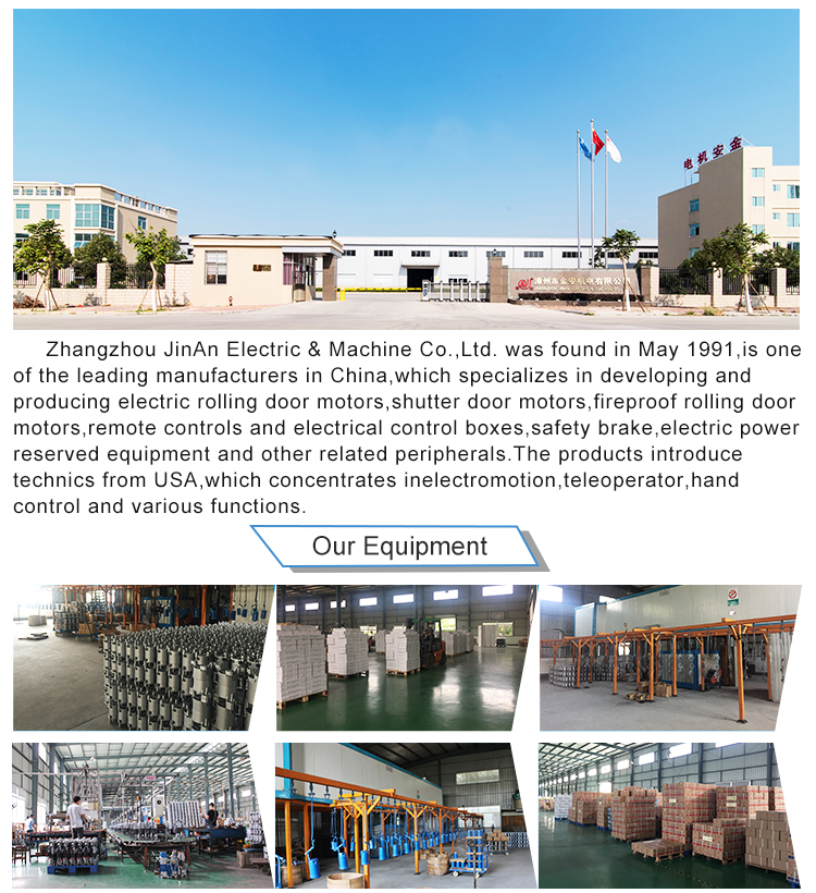 Factory Hot Sales 300kg Upgrade weight ac limit rolling door motor