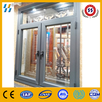 Gorgeous aluminium casement window swing open window